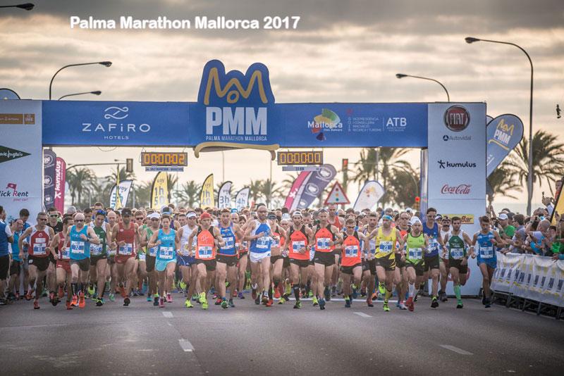 start Palma Marathon Mallorca 2017 2017
