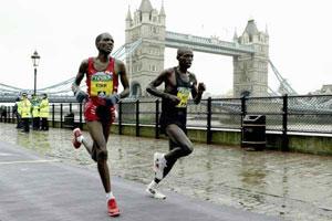 London Marathon 2004