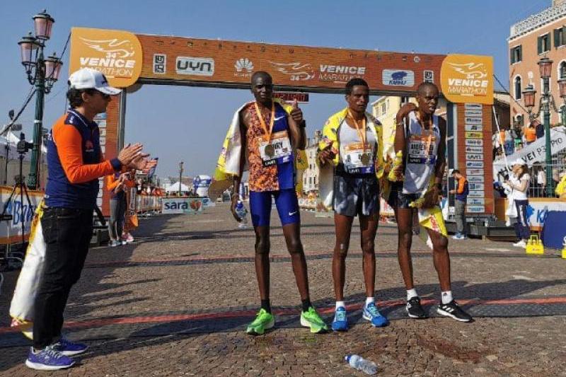 Lencho Anbesa wins Venice Marathon2019