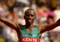 Sammy Wanjiru out of London Marathon