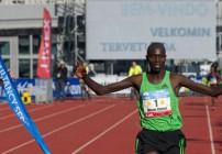 Wilson Chebet wins Amsterdam Marathon