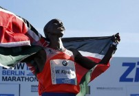 Kipsang sets WR