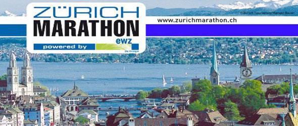 10th Zurich Marathon 22 April 2012