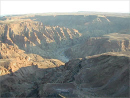 The Fish River Canyon