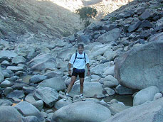 In the Fish River Canyon