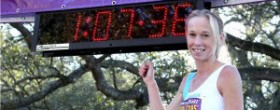 Kim Smith sets NZ Half Marathon record