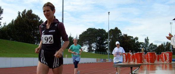 Val Muskett sets World Record