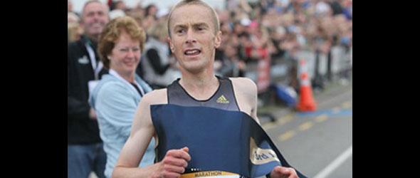 Sam Wreford wins Christchurch Marathon 2012