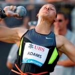 Adams continues track success