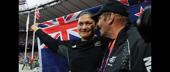 Valerie Adams awarded Gold