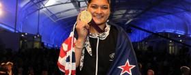 Valerie Adams receives Gold