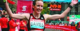 Mary Davies wins Toronto Marathon 2012