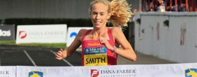 Kim Smith wins BAA Half Marathon 2012