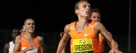 Gregson wins Queen Street Mile