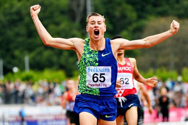 Kalle Berglund National1500m record