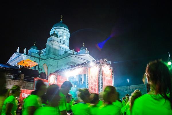 Helsinki Midnight Run 30. elokuuta