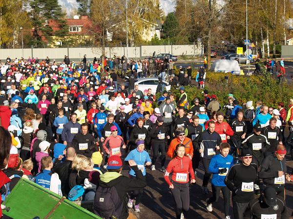 Vantaan Maraton kerää jälleen runsaasti osallistujia