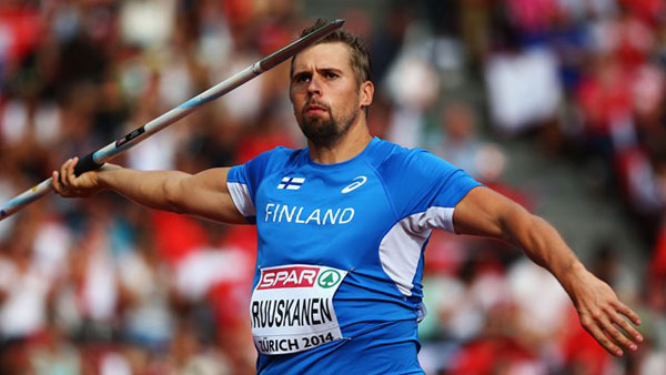 Aki Parviainen for Kuortane Javelin Conference