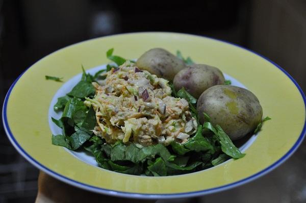tonnikala ja perunat