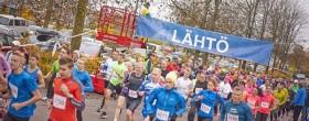Vantaan Maratonilla 2015 uutuutena maratonviesti