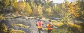 Helsinki City Trail 2015 lumosi reitillään