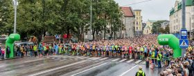 Tallinnan Maratonilla rikottiin ennätyksiä