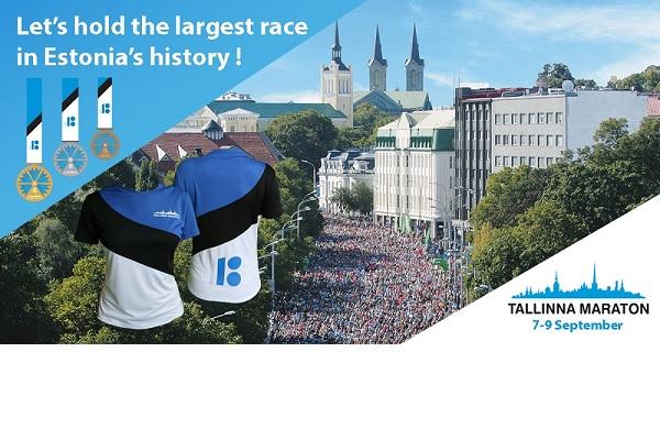Tallinnan Maraton 2018 tavoittelee ennätyksiä
