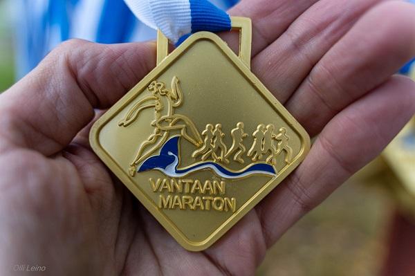 Kisaraportti Vantaan maratonilta