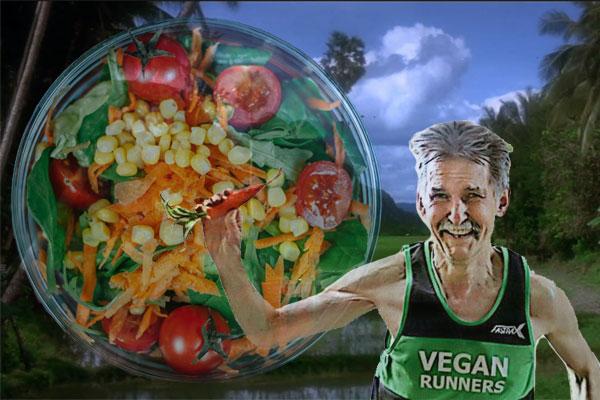 Juoksijan vegaaninen ruokavalio