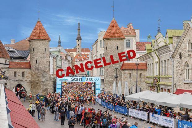 Tallinnan Maraton 2020 peruttu