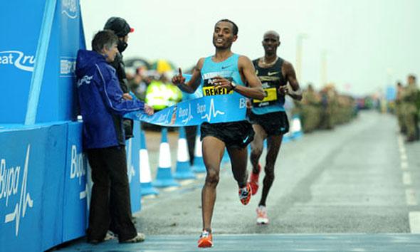 Kenenisa Bekele wins Great North Run