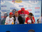 Rashid Ramzi - 1500m Press conference Athletics World Championships Helsinki 2005