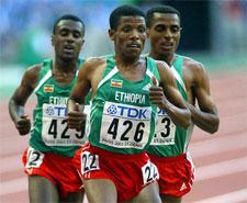The Ethiopian Express - World Championships Paris 2003 10 000m