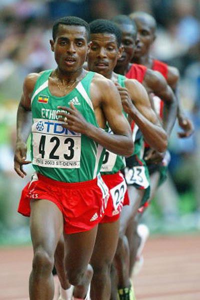 Kenenisa Bekele - World Championships Paris 2003 10000m