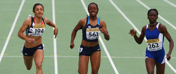 Jodie Williams Euro Rising Star 2011