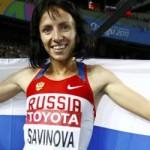 Savinova Euro Athlete of 2011