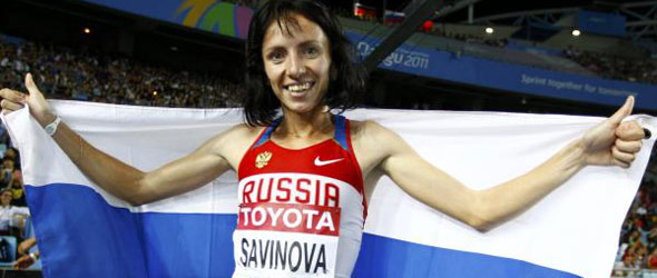 Mariya Savinova - European Athlete of the Year 2011