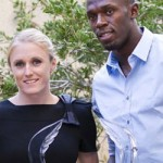 Bolt and Pearson 2011 Athletes of the Year