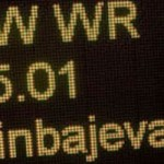 Isinbayeva sets WR in pole vault