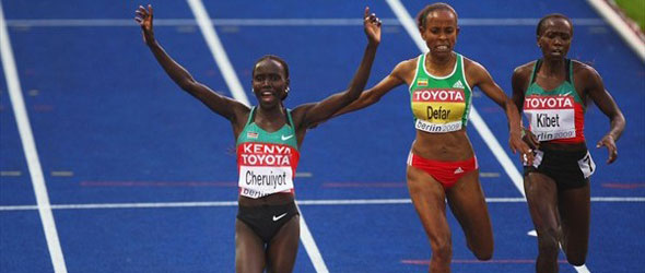 Vivian Cheruiyot for Doha 2012