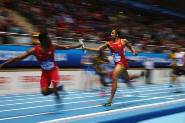 400m relay