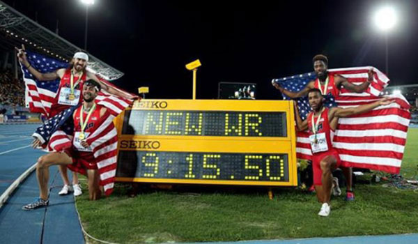 usa distance medley relay