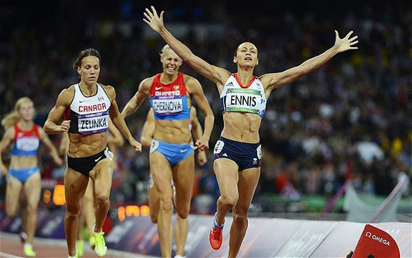 Jessica Ennis - Gold 2012