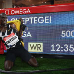 Joshua Cheptegei 5000m record ratified