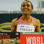 Gudaf Tsegay sets indoor 1500m record