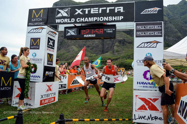Joe Gray and Ben Bruce tie Xterra Worlds 2012