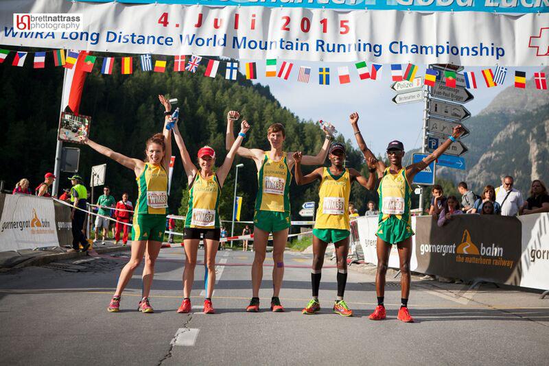 SA team - World Long Distance Champs