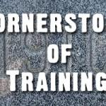 The Cornerstones of Training