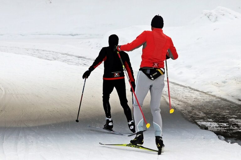 Substitute some of your running training with skiing