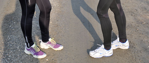 Stress fractures in female runners